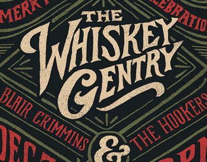 The Whiskey Gentry - Concert Poster 2