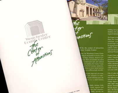 Brochure : Center of Attractions