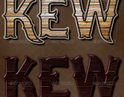 Country Wood Photoshop Layer Styles
