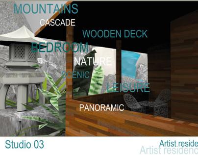 ARTIST RESIDENCE - STUDIO 03
