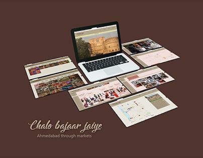 Chalo bajaar jaiye - Ahmedabad through markets