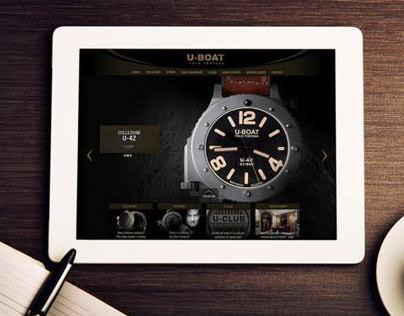 U-Boat watch website
