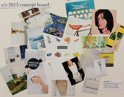 S/S 2015 Trend and Concept Boards