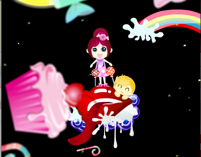 Fly Me To The Moon_ CANDY LAND