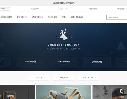 Jack & Jones / Christmas Inspiration Campagin