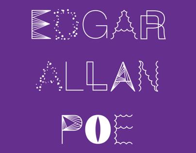 Bookdesign for Edgar allen poe short stories