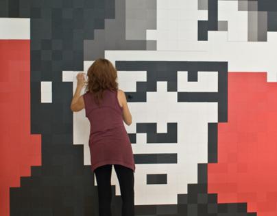 Pixels XL I 10x10 cm pieces
