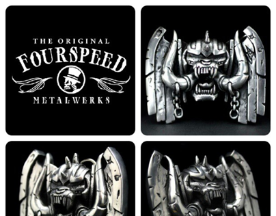 Fourspeed X Joe Petagno Buckle