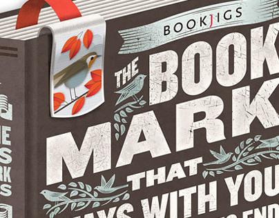 Bookjigs Initial Branding & Packaging