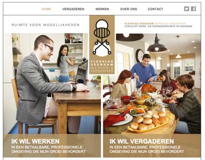 Webdesign + bouw Flexplek Veendam
