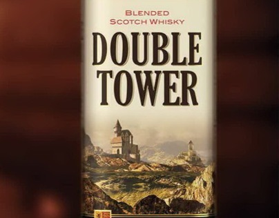 """Scotch whiskey """"Double Tower"""""""