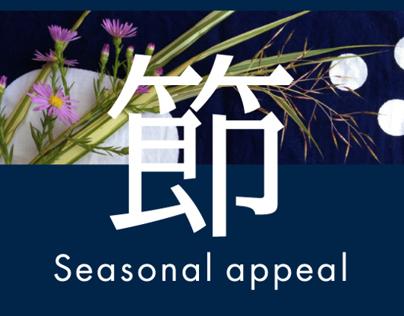Seasonal appeal BENTO