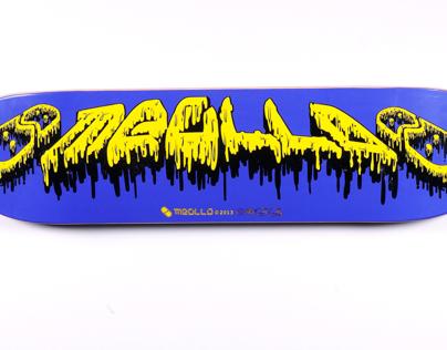 Skateboards design for meollo company