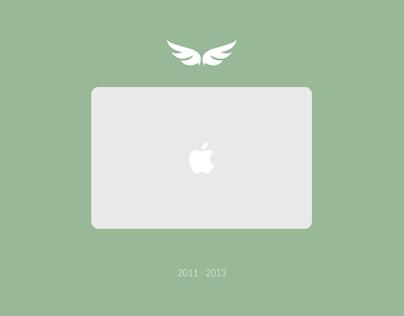 Tribute for my Macbook Air