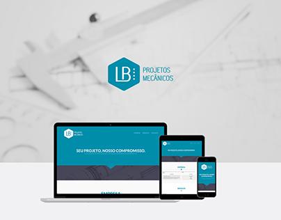 Website - LB Projetos Mecânicos