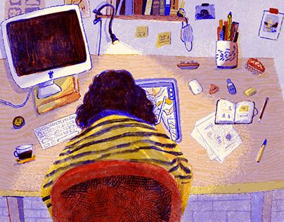 COVID desk
