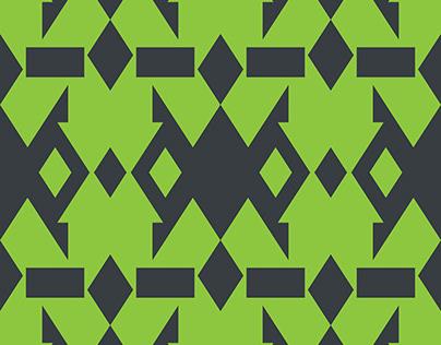 Free Illustrator Pattern - Two Square