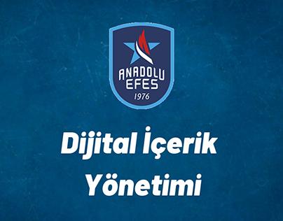 Anadolu Efes Dijital İçerik