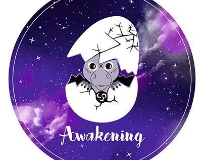 Illustration ''Awakening'' by @dizainolopsys