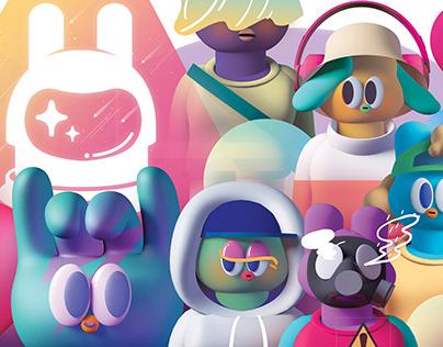 WEGO FRIENDS : Space Rabbit