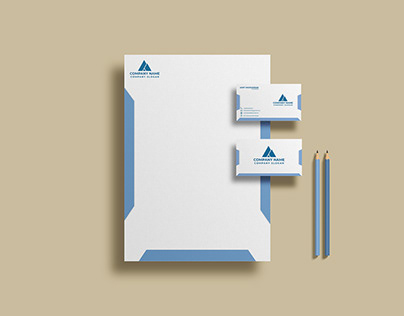 Corporate Business card and Pad Desing