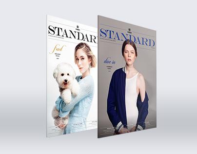 EDITORIAL DESIGN : Standard Lifestyle Gazette