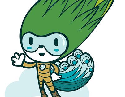 Aquapor mascot