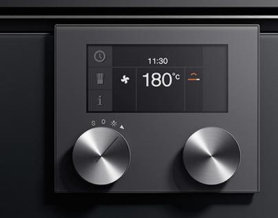 Oven Series UI for B/S/H Brand Gaggenau