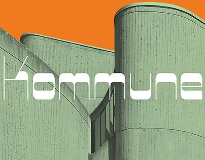 Kommune Typeface