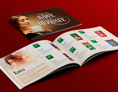 Time for a coffee or tea - brochure design on Behance