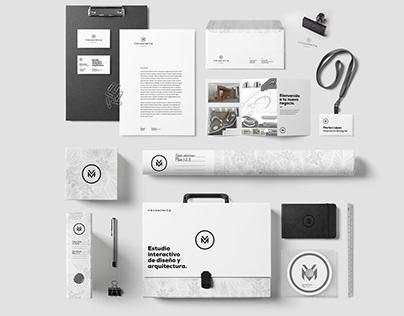 Volumínica studio. Corporate identity.