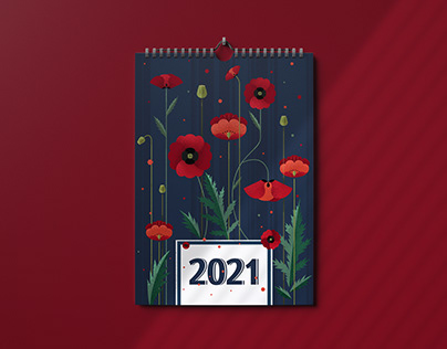 2021 Calendar Illustrations