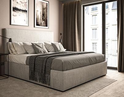 CGI: Bedroom #1   Vienna