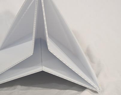 Flatpack Stool (Coroplast)