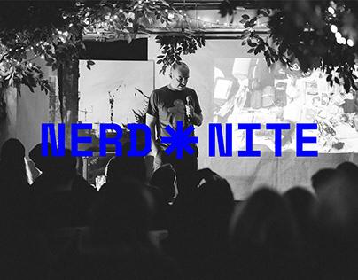 Nerd Nite Warsaw | Visual identity
