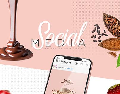SOCIAL MEDIA #03 CAKE STATION
