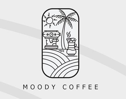 Moody Coffee Logo Design
