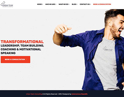 Urban Team Website Development
