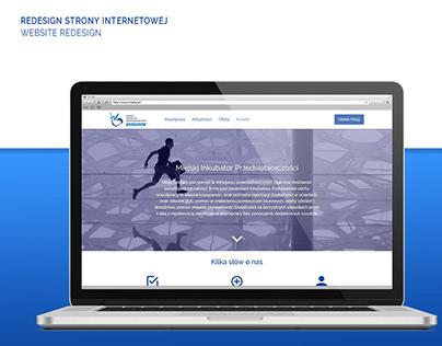 MIP website redesign