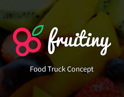 Fruitiny - Food Truck Concept