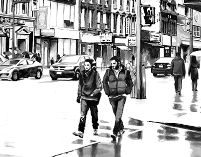 Toronto Cityscapes Illustrations