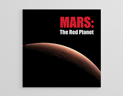 MARS: The Red Planet Brochure Design