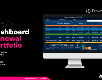 Power BI - Dashboard Renewal Portfolio