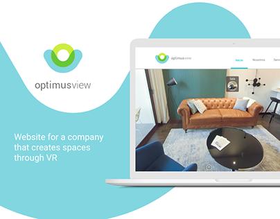 Optimus View Website