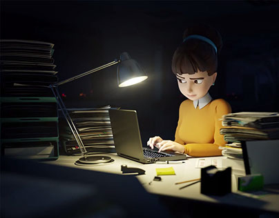Office life Animation
