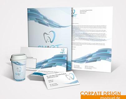 Arztpraxis, Zahnarzt Corporate Design, Logo Design