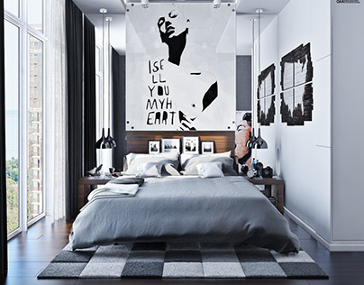 Interior design bedroom №2