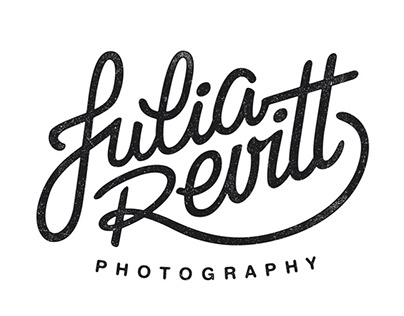 Logotype for Julia Revitt, Photographer
