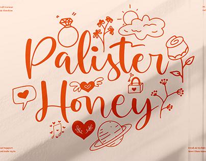 Palister Honey - Beautiful Ornament Font