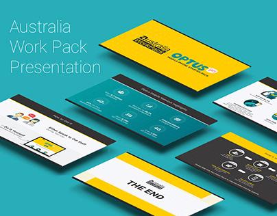 """Presentation for """"Australia Work Pack"""""""